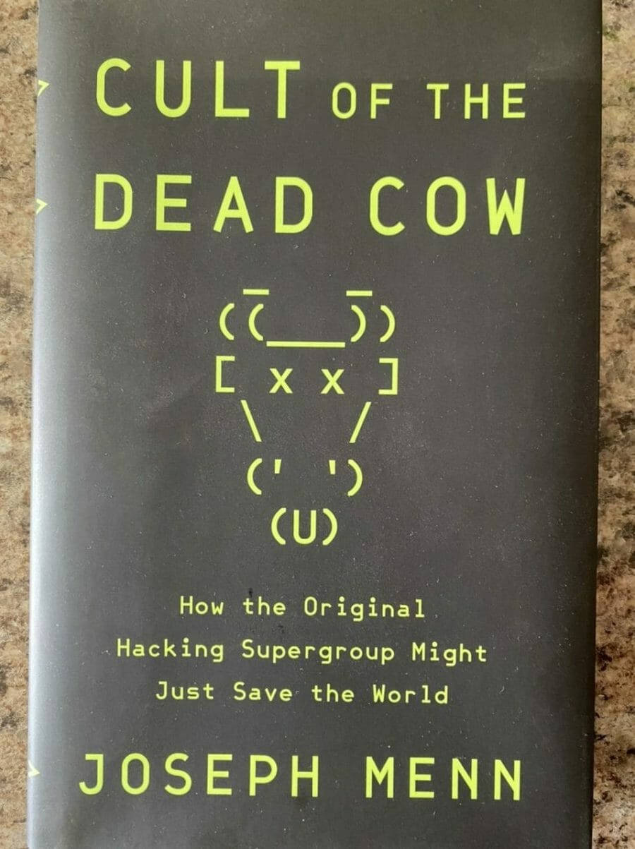 Book cover for Cult of the Dead Cow