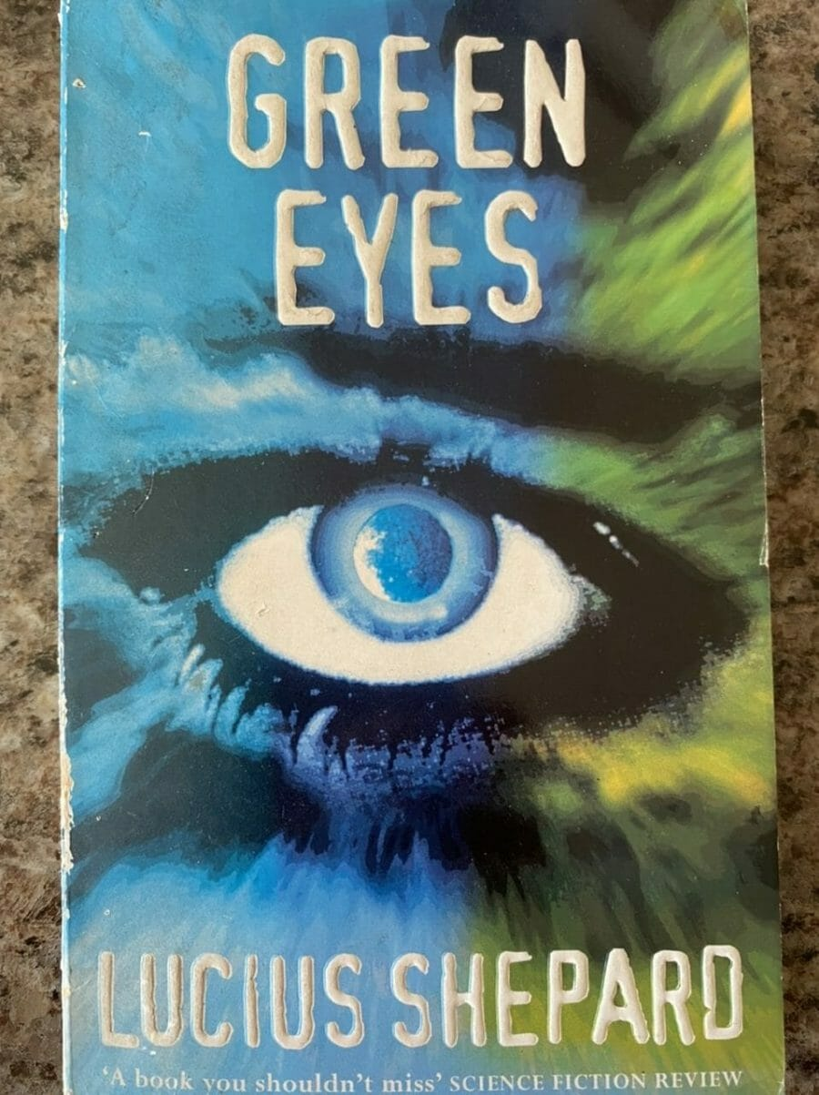 Book cover for Green Eyes
