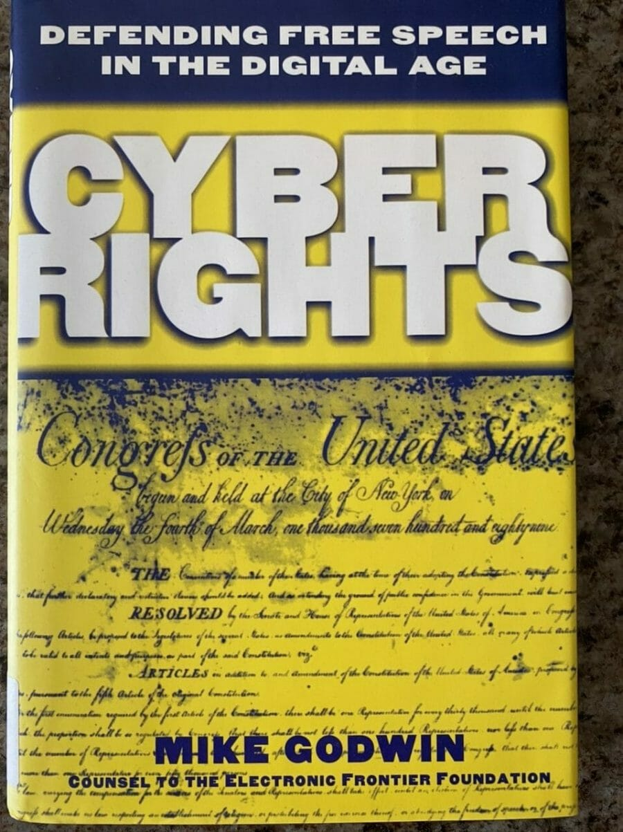 Book cover for Cyber Rights