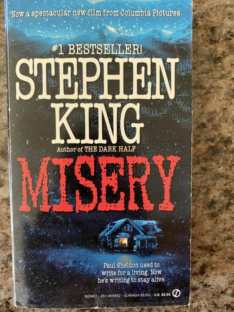 Book cover for Misery