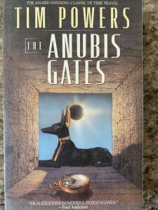 Book cover of The Anubis Gates