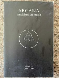 Book cover for Arcana: Musicians on Music