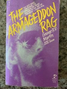 Book cover for The Armageddon Rag