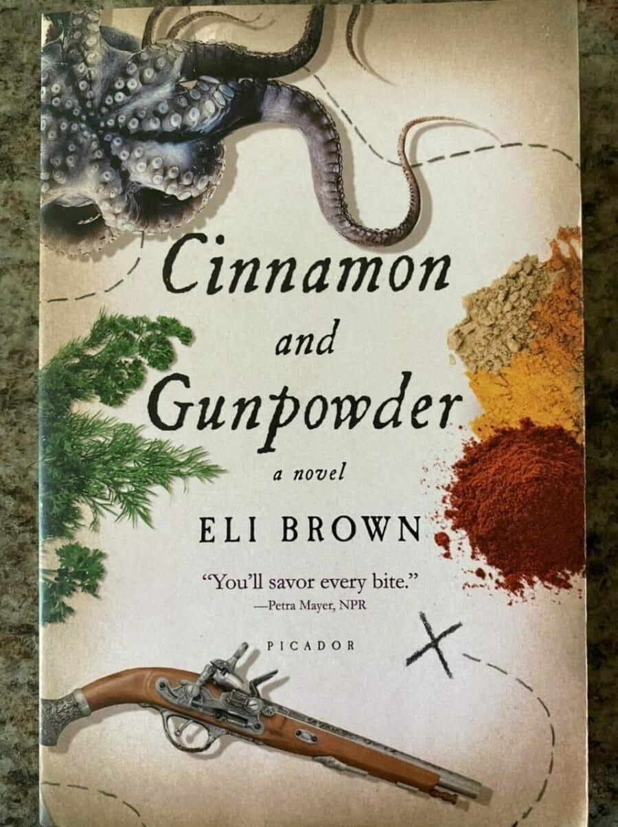 Book cover for Cinnamon and Gunpowder