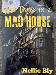 """Photo of the book """"Ten Days in a Mad-house"""""""