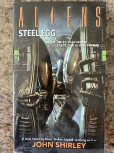 Book cover for Aliens Steel Egg