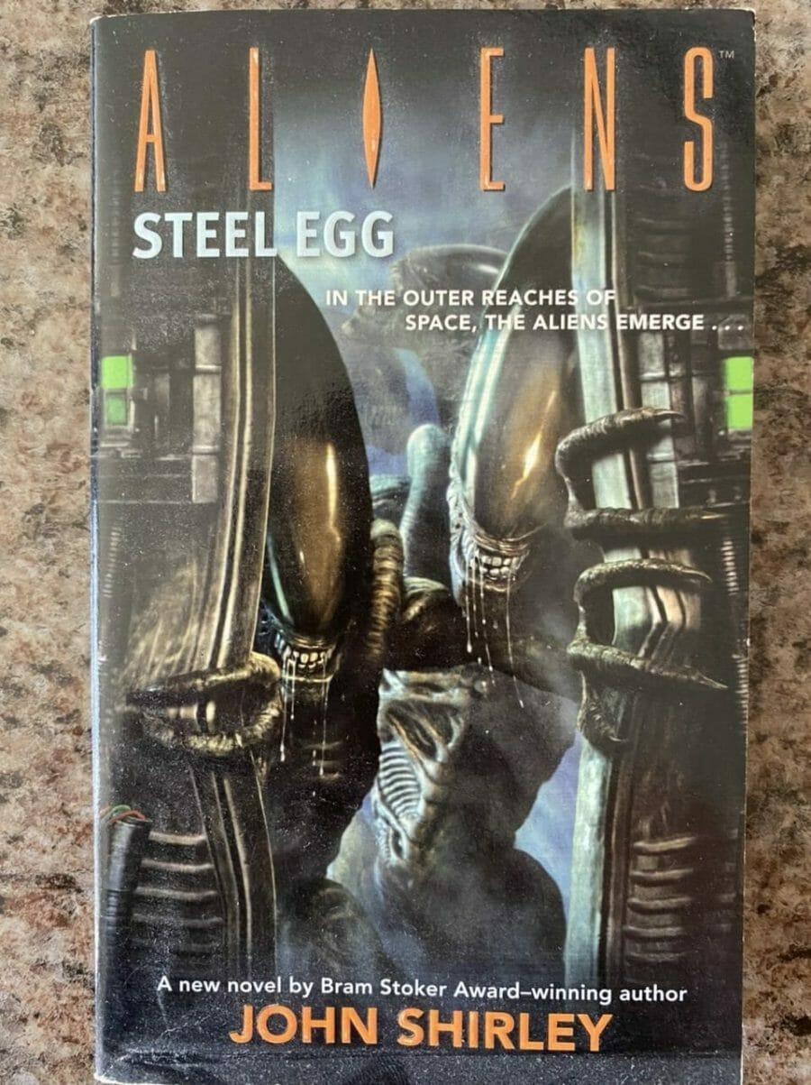 Book cover for Aliens Steel Egg