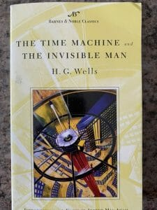 Book cover for The Time Machine and The Invisible Man