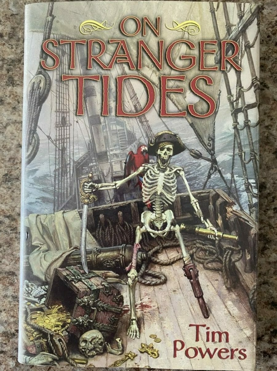 Book cover of On Stranger Tides