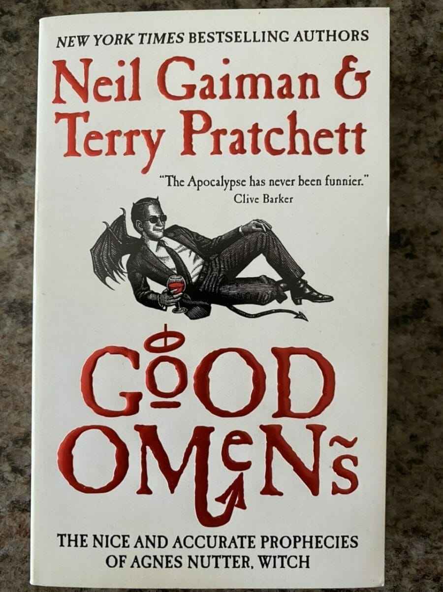 Book cover for Good Omens