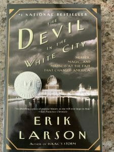 Book cover for The Devil in the White City