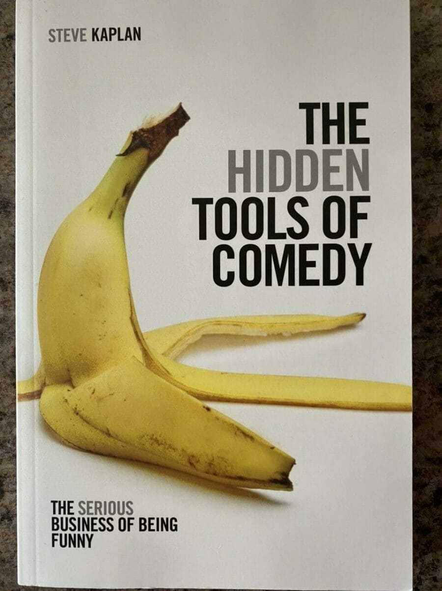Book cover for The Hidden Tools of Comedy