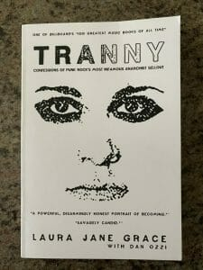Book cover for Tranny: Confessions of Punk Rock's Most Infamous Anarchist Sellout
