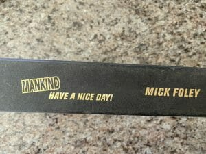 Book spine for Mankind: Have A Nice Day!