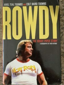 Book cover for Rowdy the Roddy Piper Story