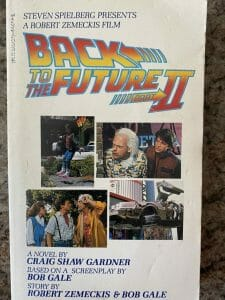 Book cover for Back To The Future II