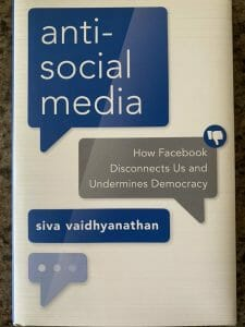 Book cover for Anti-Social Media
