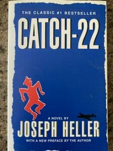 Book cover for Catch-22