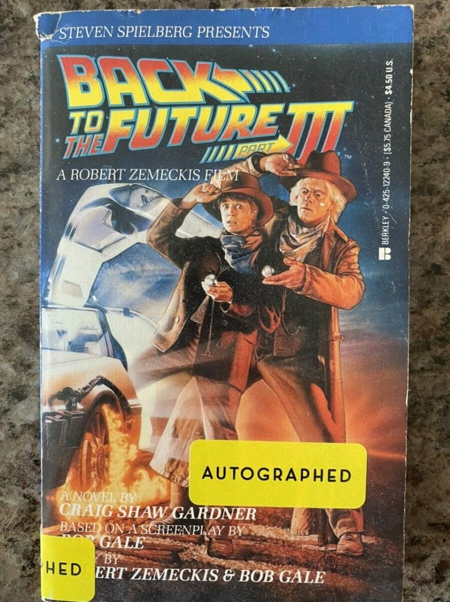 Book cover for Back To The Future III