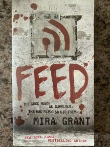 Book cover for Feed