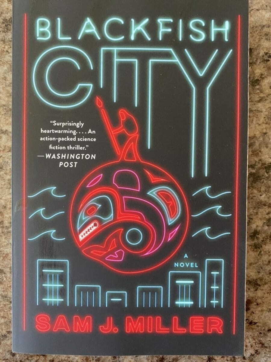 Book cover for Blackfish City
