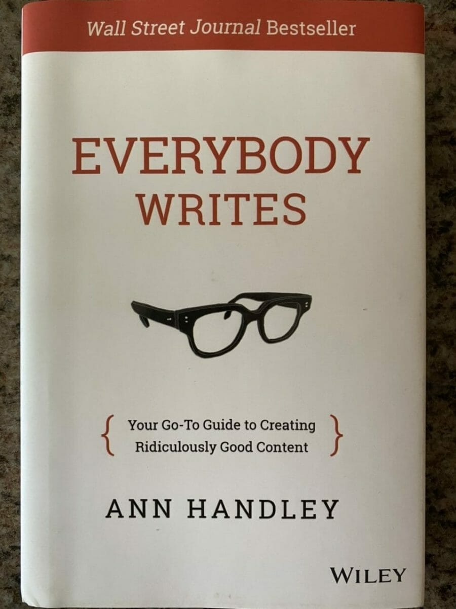 Book cover for Everybody Writes