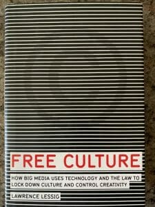 Book cover of Free Culture