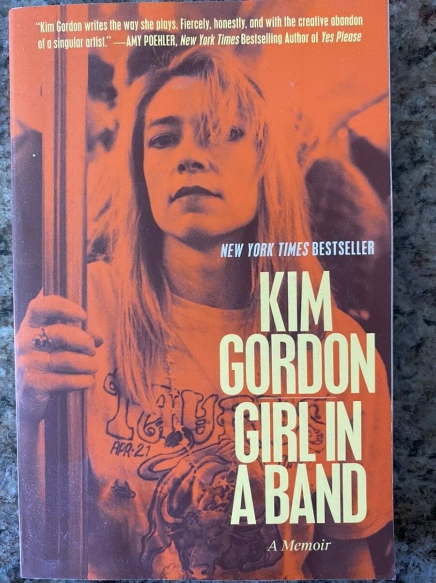 Book cover for Girl In A Band