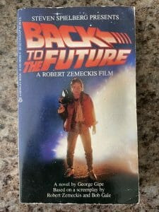 Book cover for Back To The Future