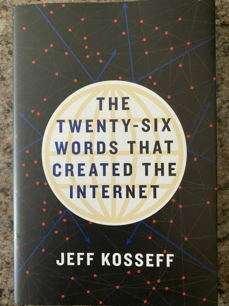 Book cover for The Twenty-siz Words That Created The Internet
