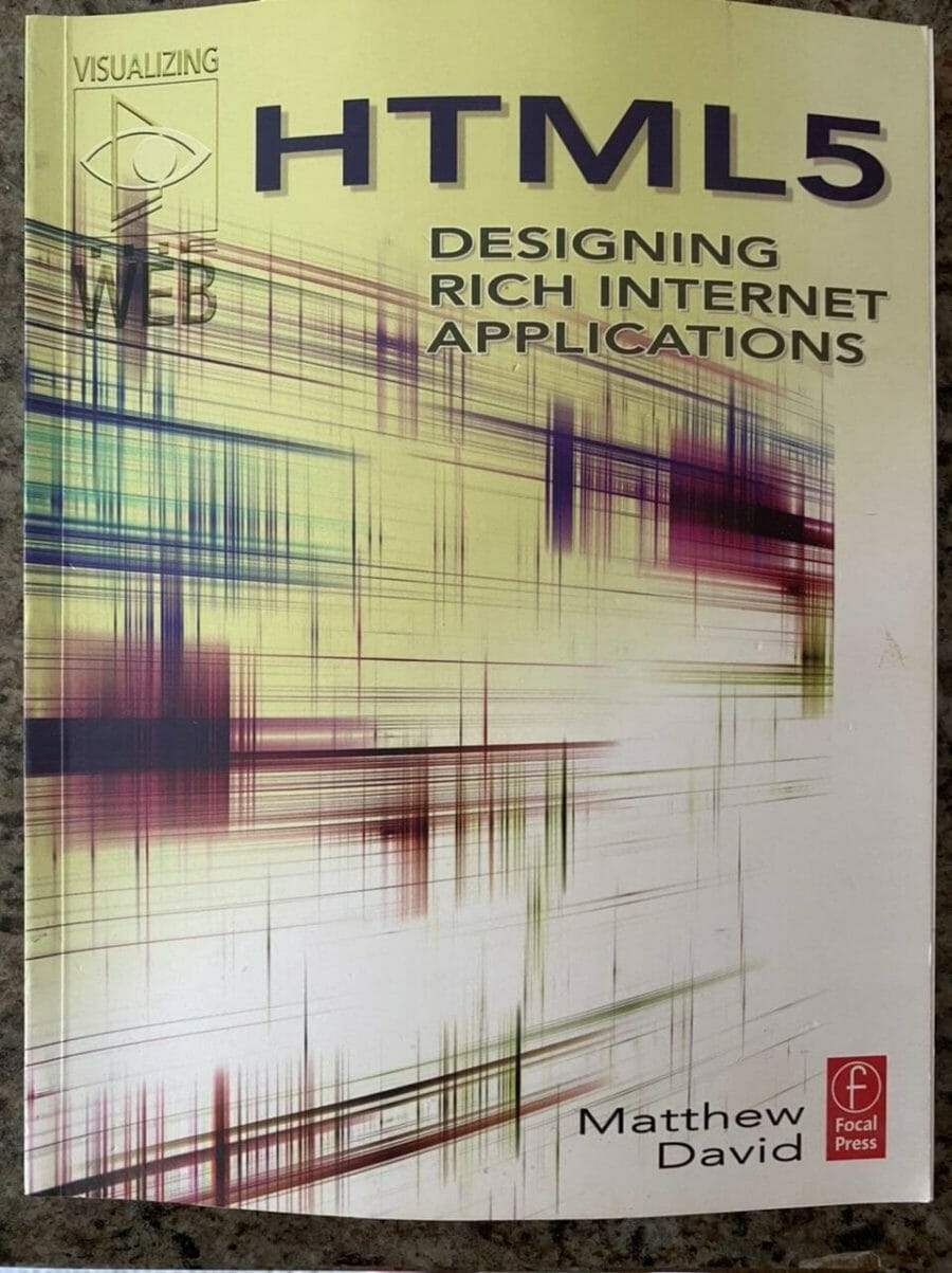 Book cover for HTML5 Designing Rich Internet Applications