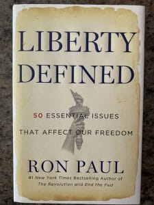 Book cover for Liberty Defined
