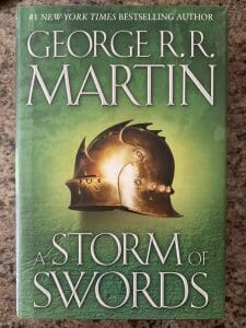 Book cover for A Storm of Swords
