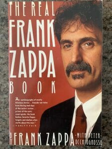 Book cover for The Real Frank Zappa Book