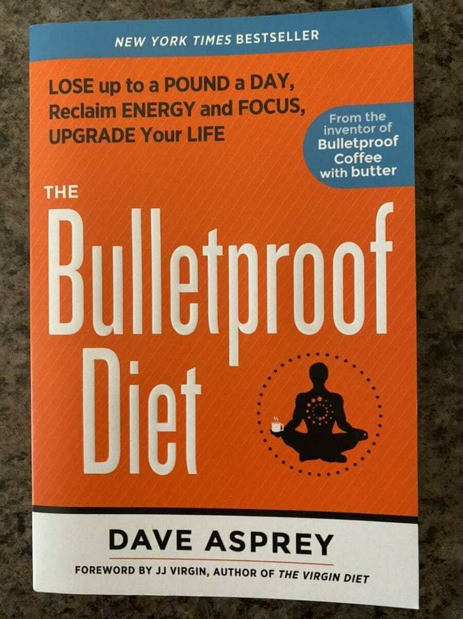 Book cover for The Bulletproof Diet