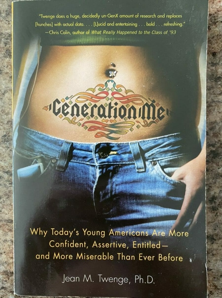 Book cover for Generation Me