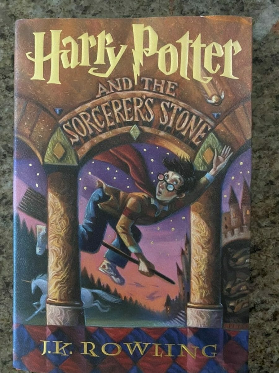 Book cover for Harry Potter and the Sorcerer's Stone
