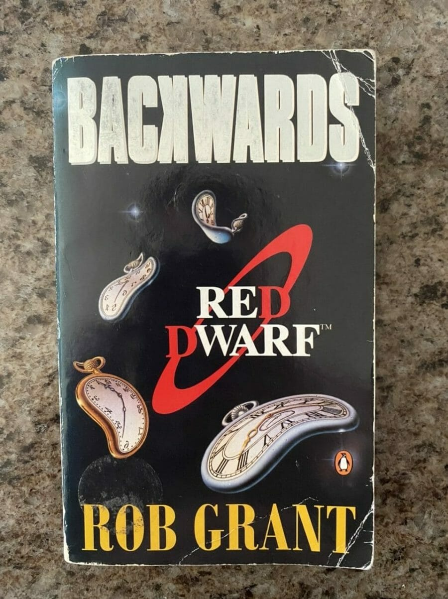 Book cover for Backwards