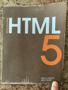 Book cover for Introducing HTML5