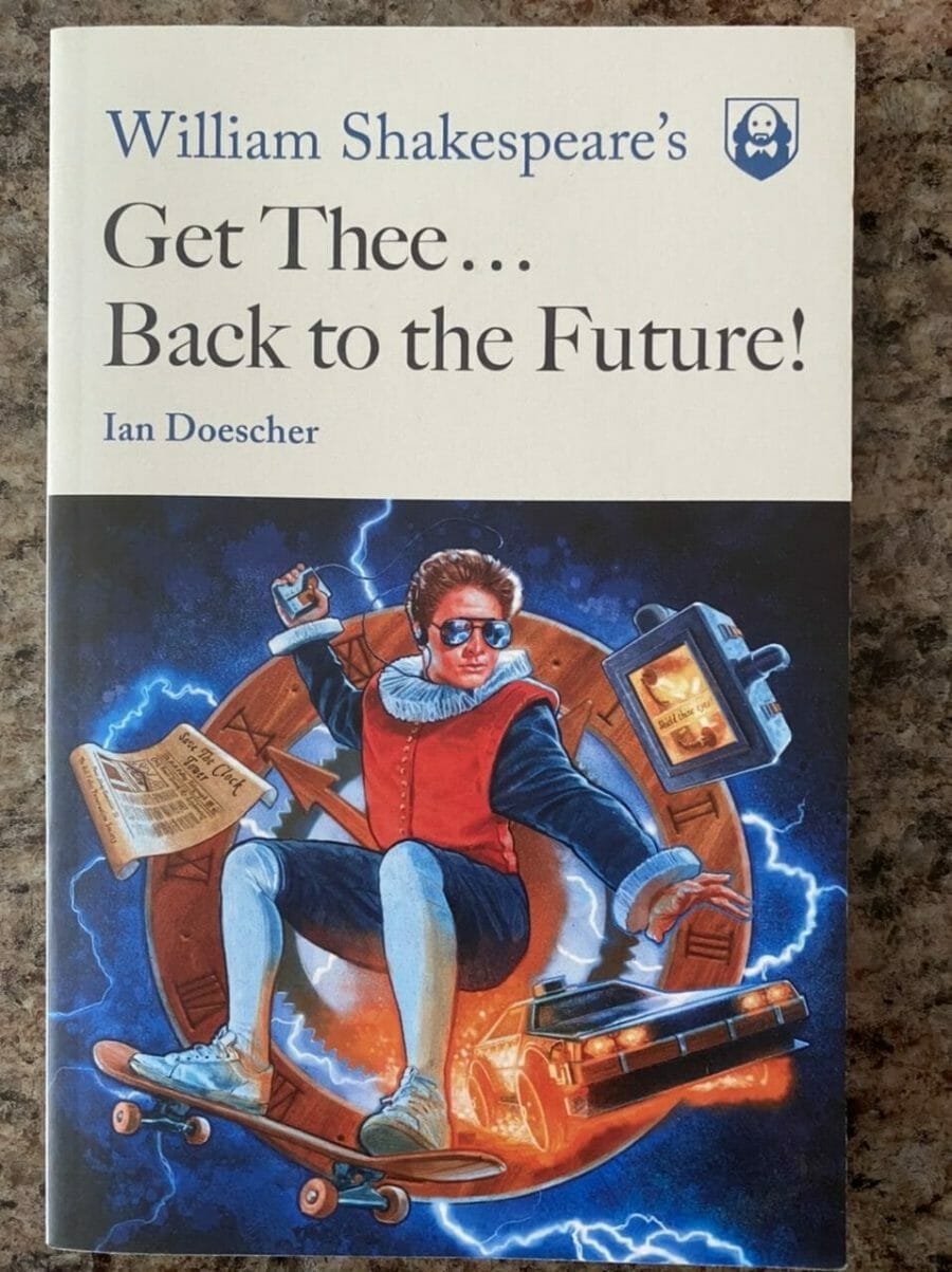 Book cover for Get Thee...Back to the Future