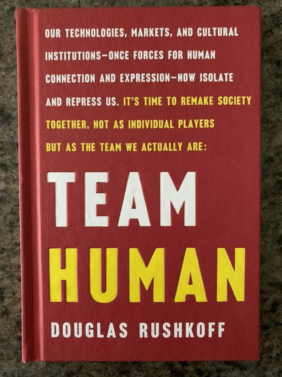Book cover for Team Human