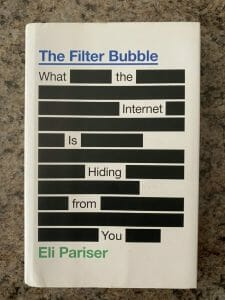 Book cover for The Filter Bubble