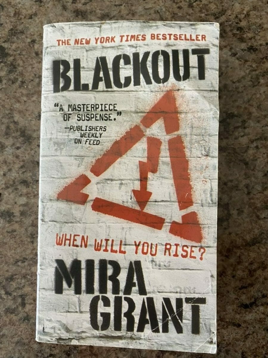 Book cover for Blackout