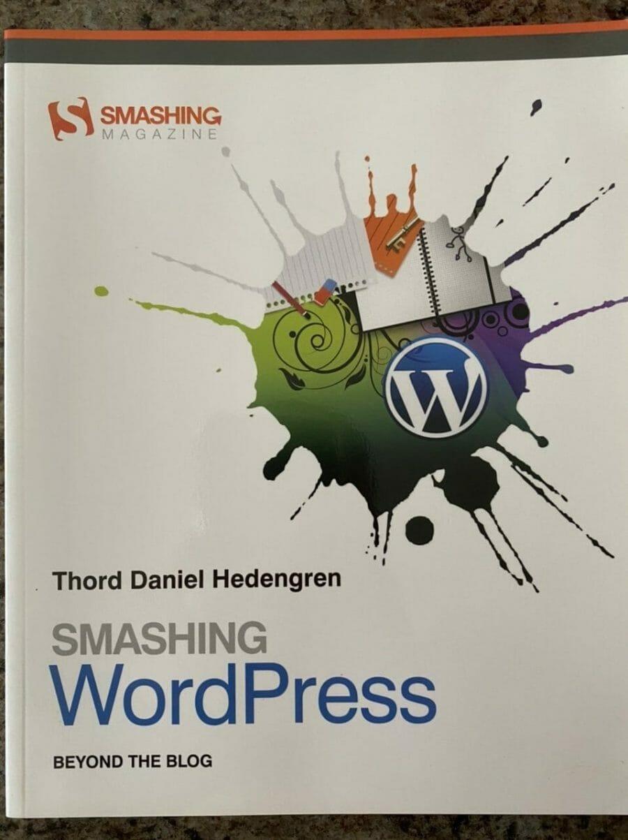 Book cover for Smashing WordPress Beyond the Blog