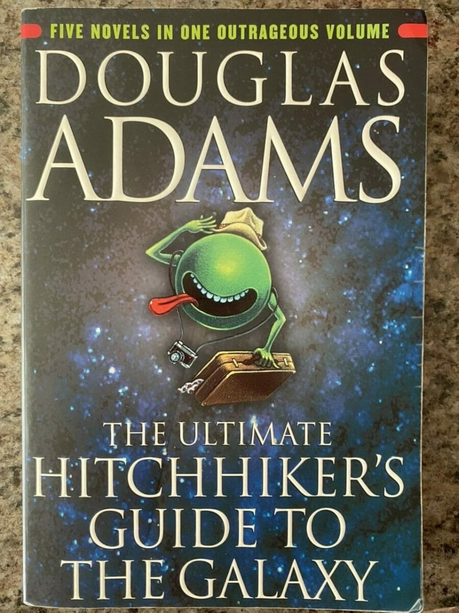 Book cover for The Ultimate Hitchhiker's Guide To The Galaxy