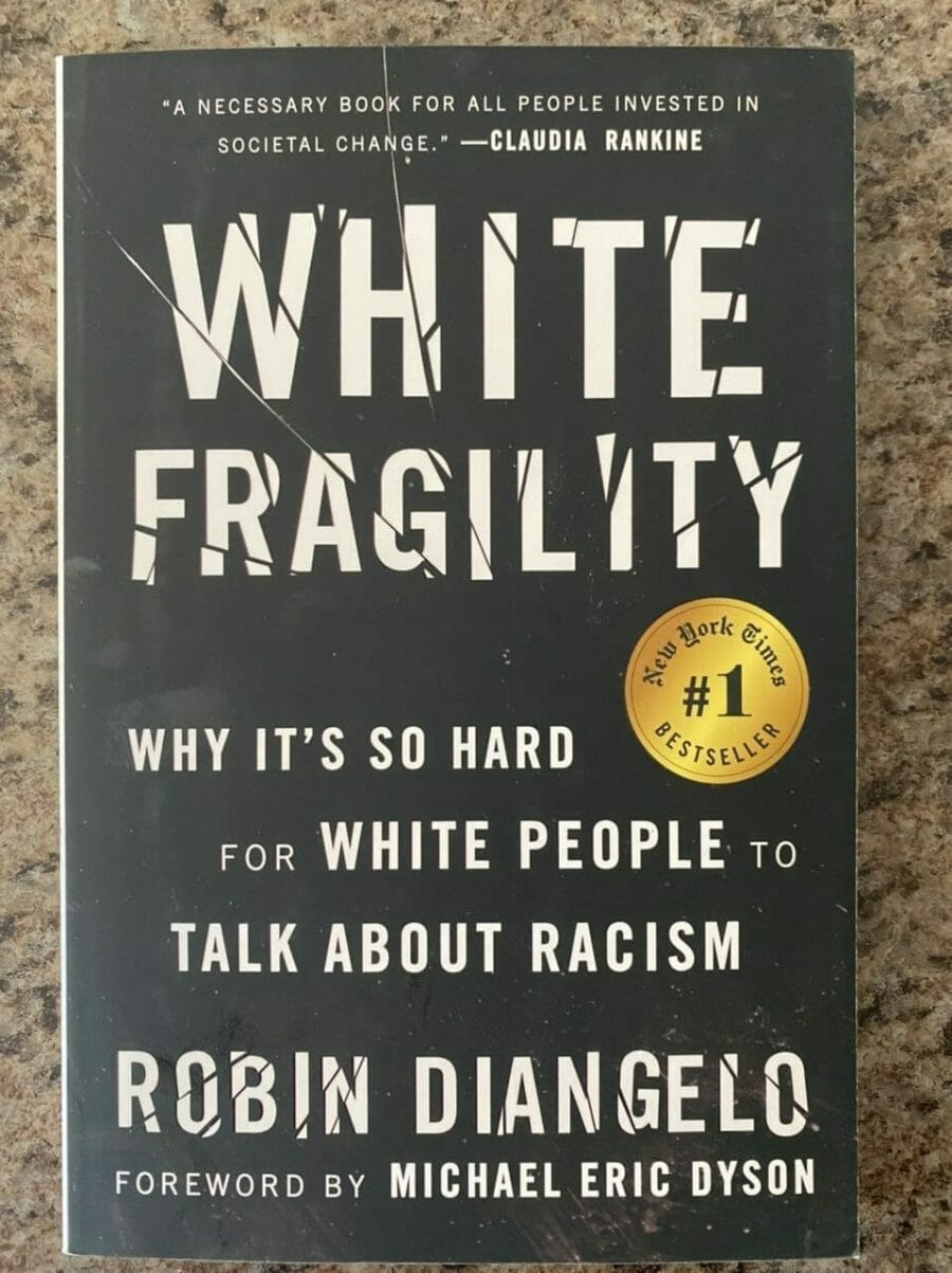 Book cover for White Fragility