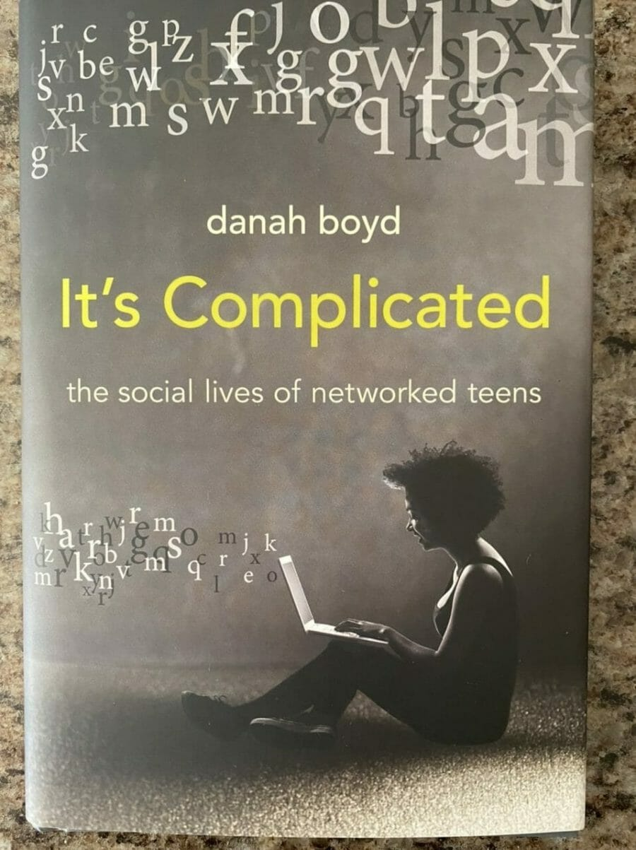 Book cover for It's Complicated: The social lives of networked teens