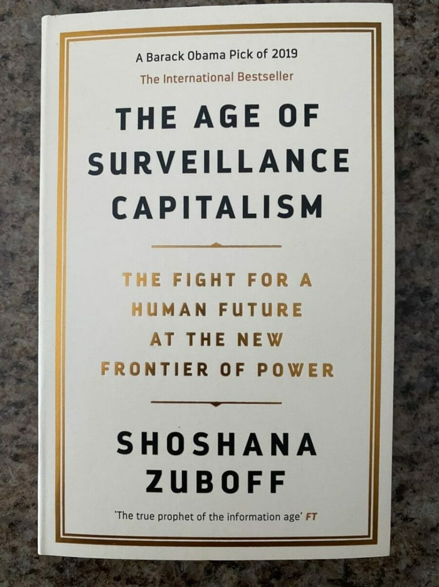 Book cover for The Age of Surveillance Capitalism