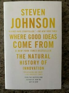 Book cover for Where Good Ideas Come From