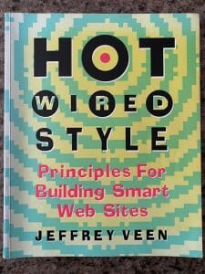 Book cover for Hotwired Style